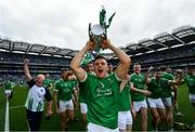 19 August 2018; Mike Casey of Limerick following their victory in the GAA Hurling All-Ireland Senior Championship Final match between Galway and Limerick at Croke Park in Dublin.  Photo by Ramsey Cardy/Sportsfile