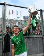 19 August 2018; Kyle Hayes of Limerick following their victory in the GAA Hurling All-Ireland Senior Championship Final match between Galway and Limerick at Croke Park in Dublin.  Photo by Ramsey Cardy/Sportsfile