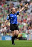 19 August 2018; Referee Johnny Murphy during the Electric Ireland GAA Hurling All-Ireland Minor Championship Final match between Kilkenny and Galway at Croke Park in Dublin. Photo by Ray McManus/Sportsfile