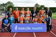 19 August 2018; The Neanagh Olympic A.C. Mens team who won the Division 1 Mens competition during the AAI National League Final at Tullamore Harriers Stadium in Offaly. Photo by Barry Cregg/Sportsfile