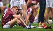 19 August 2018; A dejected Conor Whelan of Galway following the GAA Hurling All-Ireland Senior Championship Final match between Galway and Limerick at Croke Park in Dublin.  Photo by Eóin Noonan/Sportsfile