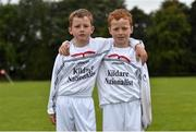 19 August 2018; Twins Tadgh, left, and Conor Scanlon, of St Brigids Newbridge, Co. Kildare, during day two of the Aldi Community Games August Festival at the University of Limerick in Limerick. Photo by Harry Murphy/Sportsfile