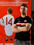 20 August 2018; Matthew Donnelly of Tyrone during a Tyrone Football Press Conference ahead of GAA Football All-Ireland Senior Championship Final at Tyrone Centre of Excellence, in Garvaghey, Tyrone. Photo by Oliver McVeigh/Sportsfile