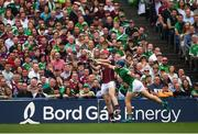 19 August 2018; Jonathan Glynn of Galway and Mike Casey of Limerick during the GAA Hurling All-Ireland Senior Championship Final between Galway and Limerick at Croke Park in Dublin. Photo by Stephen McCarthy/Sportsfile