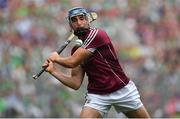 19 August 2018; Conor Cooney of Galway during the GAA Hurling All-Ireland Senior Championship Final match between Galway and Limerick at Croke Park in Dublin.  Photo by Brendan Moran/Sportsfile