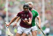 19 August 2018; Aidan Harte of Galway during the GAA Hurling All-Ireland Senior Championship Final match between Galway and Limerick at Croke Park in Dublin.  Photo by Brendan Moran/Sportsfile