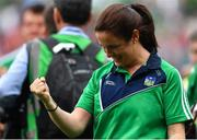 19 August 2018; Sports psychologist Caroline Currid after the GAA Hurling All-Ireland Senior Championship Final match between Galway and Limerick at Croke Park in Dublin.  Photo by Brendan Moran/Sportsfile