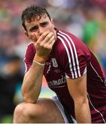 19 August 2018; A dejected Conor Cooney of Galway after the GAA Hurling All-Ireland Senior Championship Final match between Galway and Limerick at Croke Park in Dublin.  Photo by Brendan Moran/Sportsfile