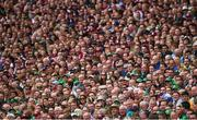 19 August 2018; Supporters during the GAA Hurling All-Ireland Senior Championship Final match between Galway and Limerick at Croke Park in Dublin.  Photo by Ramsey Cardy/Sportsfile