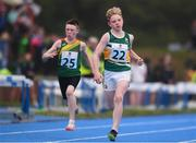 19 August 2018; Robert Carney of Shinrone-Collderry, Co. Offaly competing in the Boys U12 & O10 100m event during day two of the Aldi Community Games August Festival at the University of Limerick in Limerick. Photo by Sam Barnes/Sportsfile