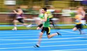 19 August 2018; John O'Connor of Castleisland, Co. Kerry, competing in the Boys U14 & O10 100m event during day two of the Aldi Community Games August Festival at the University of Limerick in Limerick. Photo by Sam Barnes/Sportsfile