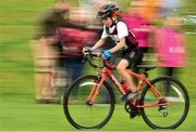 19 August 2018; Patrick Galvin of Castledaly, Co. Westmeath, competing in the Boys U12 & O10 Cycling on Grass event during day two of the Aldi Community Games August Festival at the University of Limerick in Limerick. Photo by Sam Barnes/Sportsfile