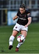 10 August 2018; Emma Hansberry of Wexford Youths during the UEFA Women's Champions League Qualifier match between Wexford Youths and Thór/KA at Seaview in Belfast. Photo by Oliver McVeigh/Sportsfile