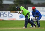 20 August 2018; Simi Singh of Ireland in action during the T20 International cricket match between Ireland and Afghanistan at Bready Cricket Club, in Magheramason, Co. Tyrone. Photo by Seb Daly/Sportsfile