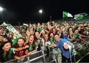20 August 2018; Tom Morrissey with supporters during the Limerick All-Ireland Hurling Winning team homecoming at the Gaelic Grounds in Limerick. Photo by Diarmuid Greene/Sportsfile