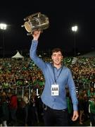 20 August 2018; Diarmaid Byrnes celebrates with the Liam MacCarthy cup during the Limerick All-Ireland Hurling Winning team homecoming at the Gaelic Grounds in Limerick. Photo by Diarmuid Greene/Sportsfile