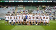 12 August 2018; The Monaghan squad before the Electric Ireland GAA Football All-Ireland Minor Championship semi-final match between Kerry and Monaghan at Croke Park in Dublin. Photo by Piaras Ó Mídheach/Sportsfile