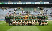 12 August 2018; The Kerry squad before the Electric Ireland GAA Football All-Ireland Minor Championship semi-final match between Kerry and Monaghan at Croke Park in Dublin. Photo by Piaras Ó Mídheach/Sportsfile