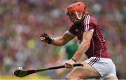 19 August 2018; Conor Whelan of Galway during the GAA Hurling All-Ireland Senior Championship Final match between Galway and Limerick at Croke Park in Dublin.  Photo by Piaras Ó Mídheach/Sportsfile