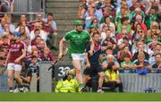 19 August 2018; Shane Dowling of Limerick comes on as a substitute during the GAA Hurling All-Ireland Senior Championship Final match between Galway and Limerick at Croke Park in Dublin.  Photo by Piaras Ó Mídheach/Sportsfile