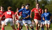22 August 2018; Jack Barry of Leinster in action against Munster during the U18 Schools Interprovincial match between Leinster and Munster at the University of Limerick in Limerick. Photo by Matt Browne/Sportsfile
