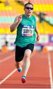 23 August 2018; Jason Smyth of Ireland on his way to winning the T13 100m Finals event during the 2018 World Para Athletics European Championships at Friedrich-Ludwig-Jahn-Sportpark in Berlin, Germany. Photo by Luc Percival/Sportsfile