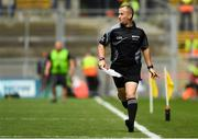 12 August 2018; Linesman Brendan Cawley during the Electric Ireland GAA Football All-Ireland Minor Championship semi-final match between Kerry and Monaghan at Croke Park in Dublin. Photo by Piaras Ó Mídheach/Sportsfile