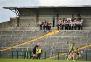 25 August 2018; Cork players watch the game between Meath and Roscommon ahead of their TG4 All-Ireland Ladies Football Senior Championship Semi-Final match between Cork and Donegal at Dr Hyde Park in Roscommon. Photo by Eóin Noonan/Sportsfile