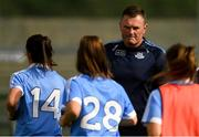 25 August 2018; Dublin manager Mick Bohan before the TG4 All-Ireland Ladies Football Senior Championship Semi-Final match between Dublin and Galway at Dr Hyde Park in Roscommon. Photo by Piaras Ó Mídheach/Sportsfile