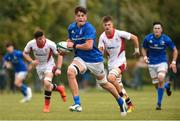 26 August 2018; Alex Soroka of Leinster in action during the U18 Schools Interprovincial match between Leinster and Ulster at the University of Limerick in Limerick.  Photo by Matt Browne/Sportsfile