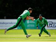 27 August 2018; Peter Chase of Ireland during the One Day International match between Ireland and Afghanistan at Stormont Cricket Ground, Belfast, Co. Antrim. Photo by Seb Daly/Sportsfile