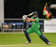 27 August 2018; William Porterfield of Ireland in action during the One Day International match between Ireland and Afghanistan at Stormont Cricket Ground, Belfast, Co. Antrim. Photo by Seb Daly/Sportsfile