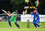 27 August 2018; William Porterfield of Ireland and Shafiqullah Shafaq of Afghanistan in action during the One Day International match between Ireland and Afghanistan at Stormont Cricket Ground, Belfast, Co. Antrim. Photo by Seb Daly/Sportsfile