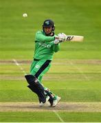 27 August 2018; Gary Wilson of Ireland in action during the One Day International match between Ireland and Afghanistan at Stormont Cricket Ground, Belfast, Co. Antrim. Photo by Seb Daly/Sportsfile