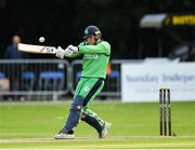 27 August 2018; Gary Wilson of Ireland during the One Day International match between Ireland and Afghanistan at Stormont Cricket Ground, Belfast, Co. Antrim. Photo by Seb Daly/Sportsfile