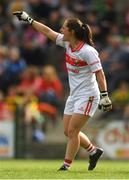 25 August 2018; Cork goalkeeper Martina O'Brien during the TG4 All-Ireland Ladies Football Senior Championship Semi-Final match between Cork and Donegal at Dr Hyde Park in Roscommon. Photo by Piaras Ó Mídheach/Sportsfile