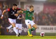 31 August 2018; Karl Sheppard of Cork City in action against Patrick McClean of Sligo Rovers during the SSE Airtricity League Premier Division match between Cork City and Sligo Rovers at Turner's Cross in Cork. Photo by Eóin Noonan/Sportsfile