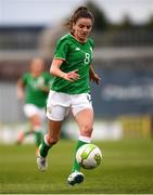 31 August 2018; Leanne Kiernan of Republic of Ireland during the 2019 FIFA Women's World Cup Qualifier match between Republic of Ireland and Northern Ireland at Tallaght Stadium in Dublin. Photo by Stephen McCarthy/Sportsfile
