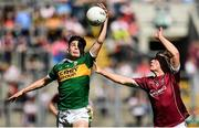 2 September 2018; Keith O'Leary of Kerry in action against Tony Gill of Galway during the Electric Ireland GAA Football All-Ireland Minor Championship Final match between Kerry and Galway at Croke Park in Dublin. Photo by Seb Daly/Sportsfile