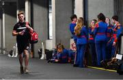 2 September 2018; Conor Meyler of Tyrone arrives ahead of the GAA Football All-Ireland Senior Championship Final match between Dublin and Tyrone at Croke Park in Dublin. Photo by Ramsey Cardy/Sportsfile