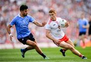 2 September 2018; Cian O'Sullivan of Dublin in action against Peter Harte of Tyrone during the GAA Football All-Ireland Senior Championship Final match between Dublin and Tyrone at Croke Park in Dublin. Photo by Stephen McCarthy/Sportsfile