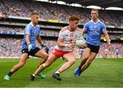 2 September 2018; Conor Meyler of Tyrone in action against Jonny Cooper, left, and Paul Mannion of Dublin during the GAA Football All-Ireland Senior Championship Final match between Dublin and Tyrone at Croke Park in Dublin. Photo by Stephen McCarthy/Sportsfile