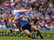 2 September 2018; Paul Mannion of Dublin is tackled by Rory Brennan of Tyrone during the GAA Football All-Ireland Senior Championship Final match between Dublin and Tyrone at Croke Park in Dublin. Photo by Ray McManus/Sportsfile