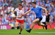2 September 2018; Conor Meyler of Tyrone in action against Brian Fenton of Dublin during the GAA Football All-Ireland Senior Championship Final match between Dublin and Tyrone at Croke Park in Dublin. Photo by Ramsey Cardy/Sportsfile