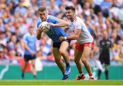 2 September 2018; Paul Mannion of Dublin is tackled by Tiernan McCann of Tyrone during the GAA Football All-Ireland Senior Championship Final match between Dublin and Tyrone at Croke Park in Dublin. Photo by Eóin Noonan/Sportsfile