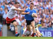 2 September 2018; Con O'Callaghan of Dublin is tackled by Mattie Donnelly of Tyrone during to the GAA Football All-Ireland Senior Championship Final match between Dublin and Tyrone at Croke Park in Dublin. Photo by Eóin Noonan/Sportsfile