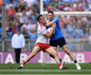 2 September 2018; Kieran McGeary of Tyrone in action against Philip McMahon of Dublin during the GAA Football All-Ireland Senior Championship Final match between Dublin and Tyrone at Croke Park in Dublin. Photo by Seb Daly/Sportsfile