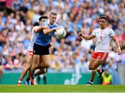 2 September 2018; Paul Mannion of Dublin in action against Tiernan McCann of Tyrone during the GAA Football All-Ireland Senior Championship Final match between Dublin and Tyrone at Croke Park in Dublin. Photo by Eóin Noonan/Sportsfile