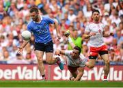 2 September 2018; Jack McCaffrey of Dublin gets away from Colm Cavanagh of Tyrone during the GAA Football All-Ireland Senior Championship Final match between Dublin and Tyrone at Croke Park in Dublin. Photo by Brendan Moran/Sportsfile