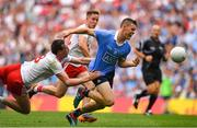 2 September 2018; Con O'Callaghan of Dublin is tackled by Colm Cavanagh of Tyrone during the GAA Football All-Ireland Senior Championship Final match between Dublin and Tyrone at Croke Park in Dublin. Photo by Brendan Moran/Sportsfile